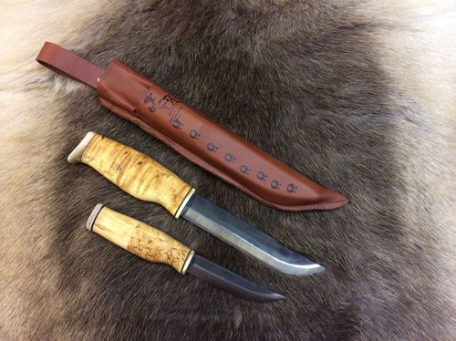 Large Double knife, 14,5 cm and 9,5cm blades