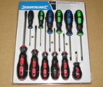 12 Piece screwdriver set