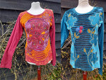 Long Sleeved Slash Top - Various